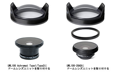 INON(イノン) スーパーワイドレンズ ドームレンズユニット for UWL-100